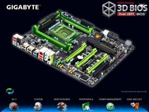 GYGABYTEの3D BIOS